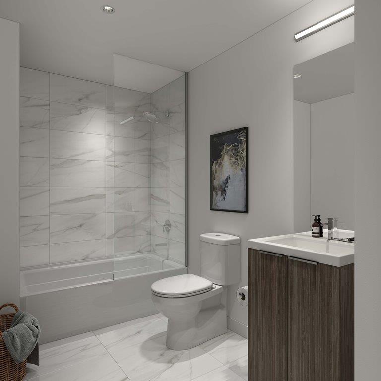 in.DE Condos Suite Bathroom