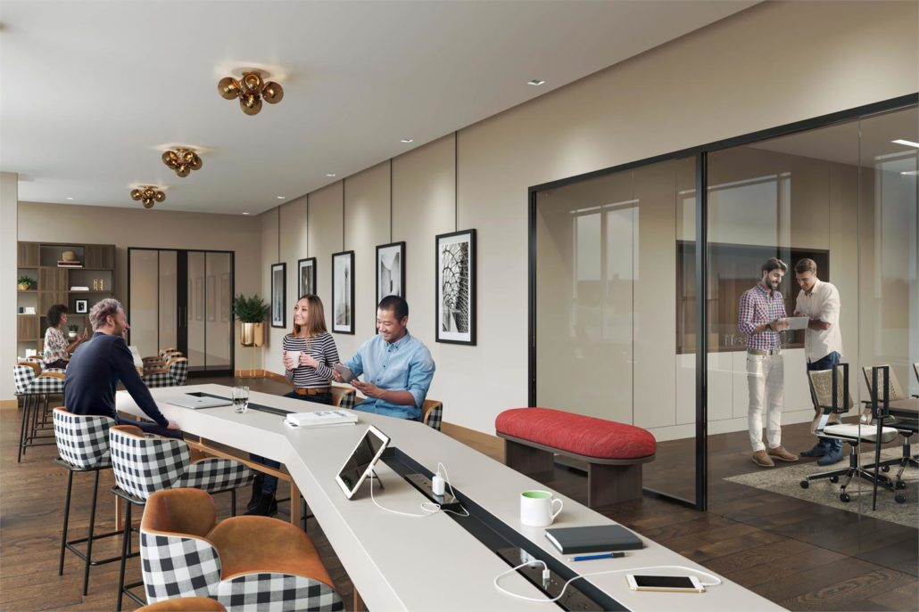 Mobilio Condos South Tower Co-Work Space