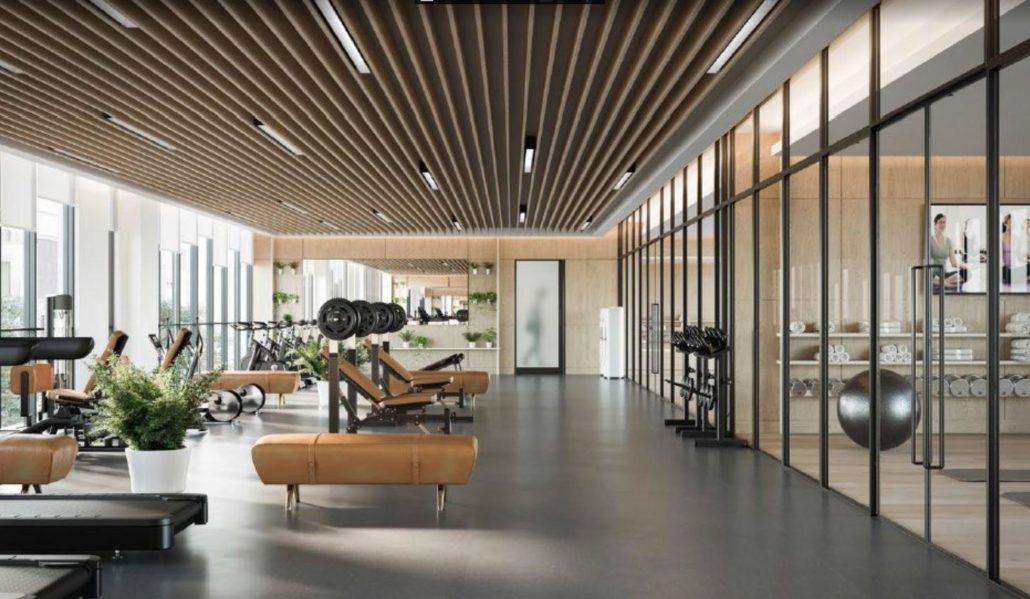 Mobilio Condos South Tower Fitness Centre
