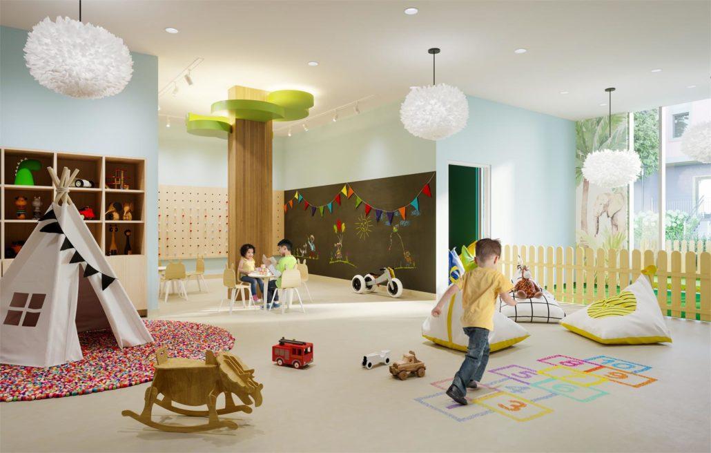 Mobilio Condos South Tower Kids Room