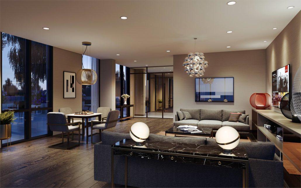 Mobilio Condos South Tower Lounge