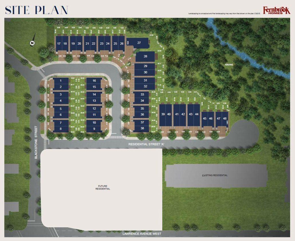 Riverside Residences Site Plan