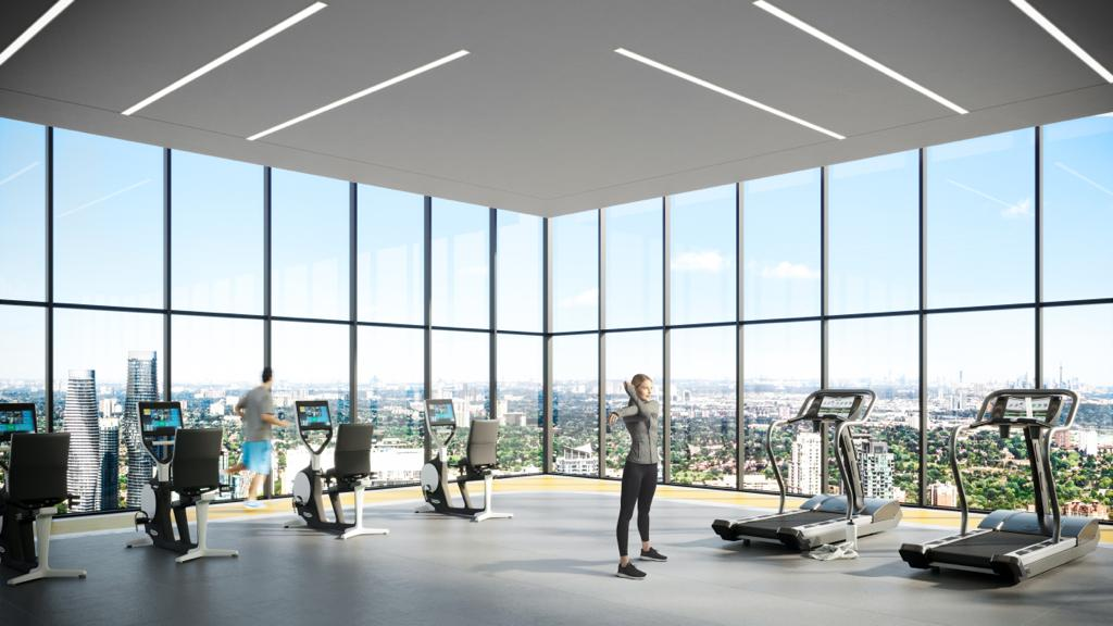 Exchange District Condos - Phase 2 Gym