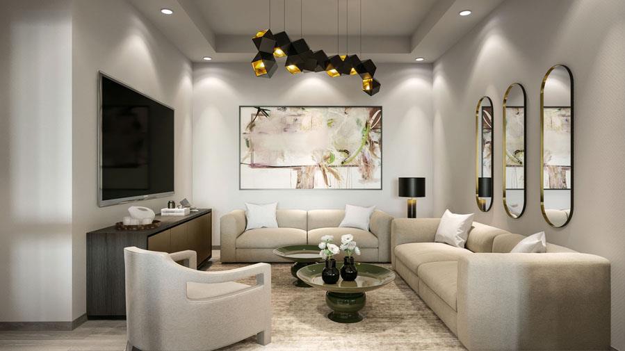 36 Birch Living Room