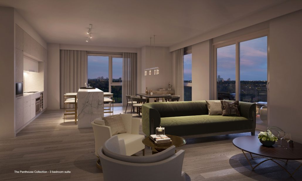 St. Clair Village Condos Penthouse Rendering