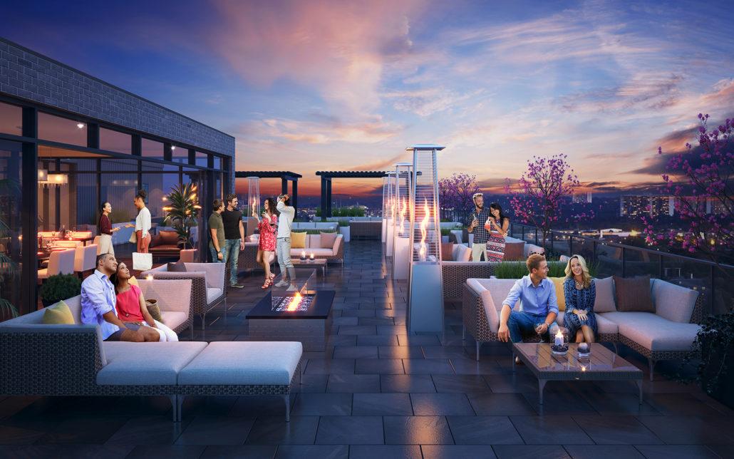 8 Haus Condos Rooftop