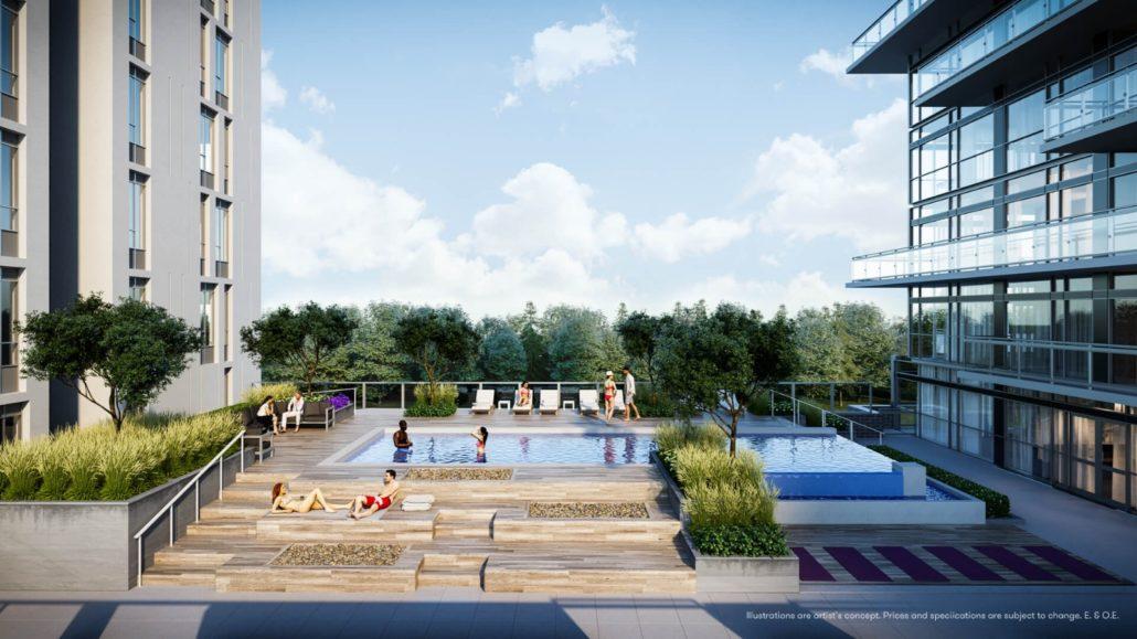 Connectt Urban Community Condos Pool