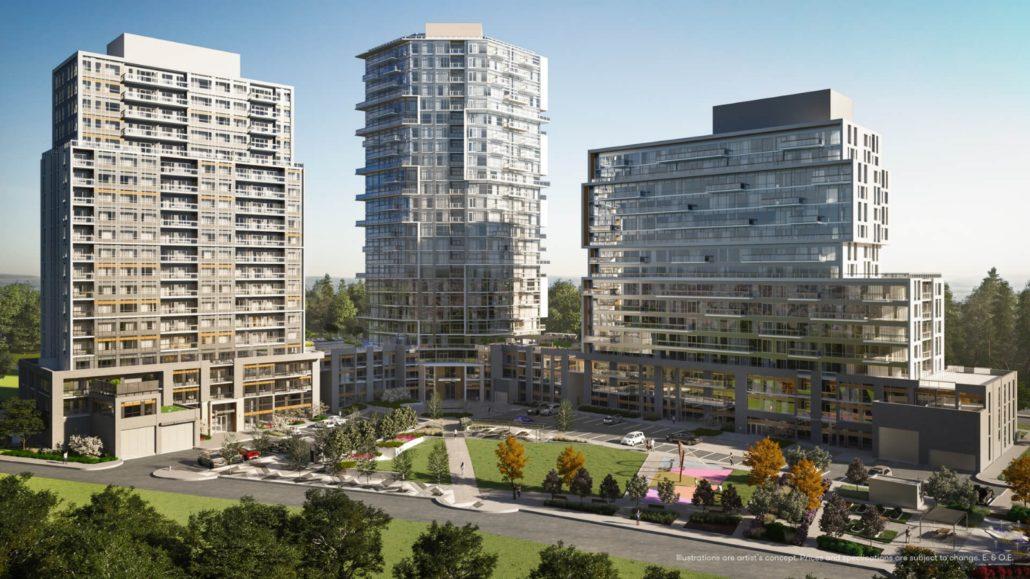 Connectt Urban Community Condos Rendering
