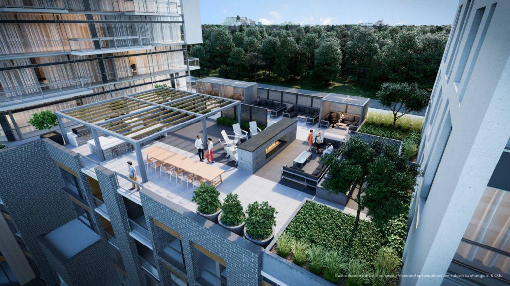 Connectt Urban Community Condos Rooftop