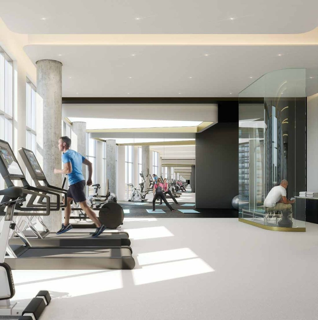 Promenade Park Towers Condos Gym