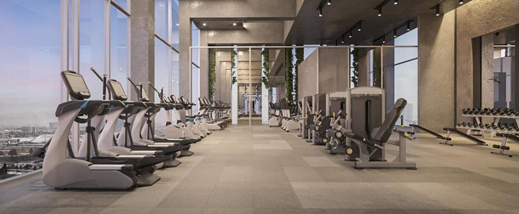 SXSW Tower 2 Condos Fitness Centre