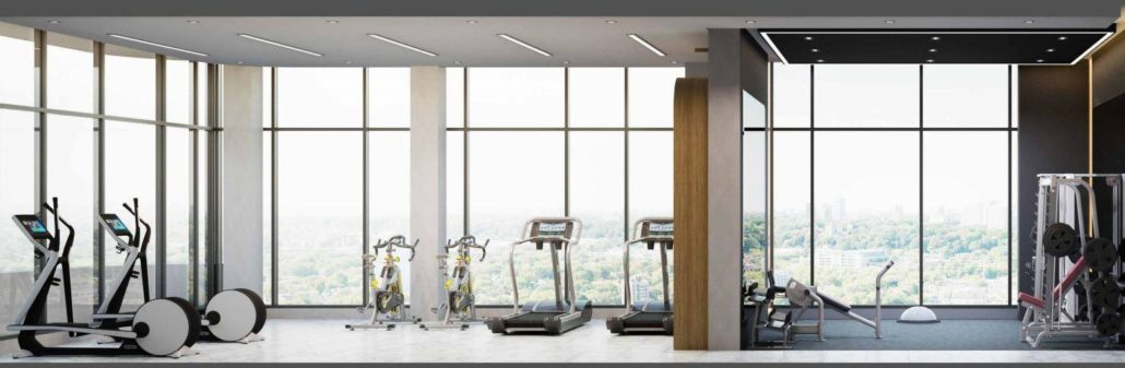 The Mackenzie Condos Fitness Centre