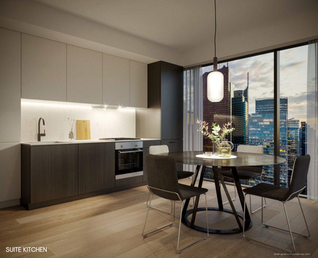 The Saint Suite Kitchen