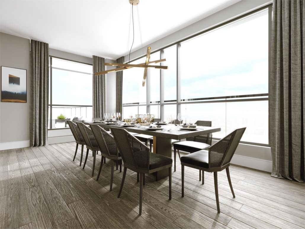 Edenbridge on the Kingsway Condos Dining Room