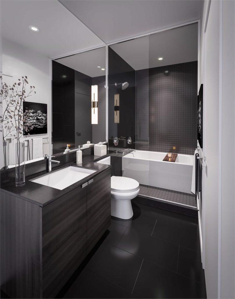 Gallery Condos and Lofts Bathroom