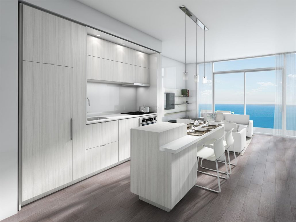 Nautique Lakefront Residences Condos Kitchen