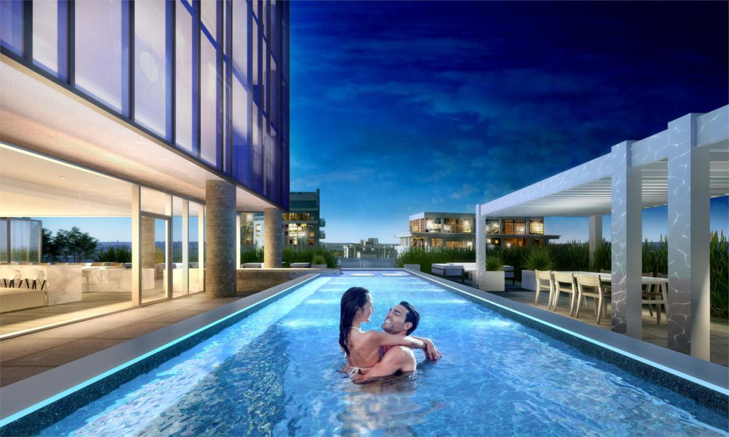 Nautique Lakefront Residences Condos Pool