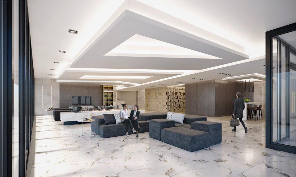 The Borough Condos Lobby