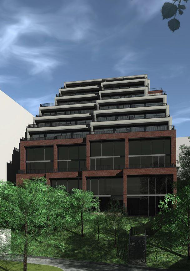 The Lookout Condominiums Exterior Rendering