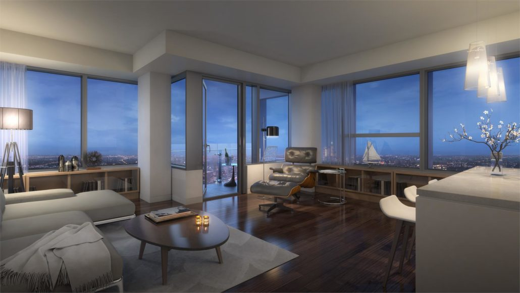 SKY Residences at ICE District Interior