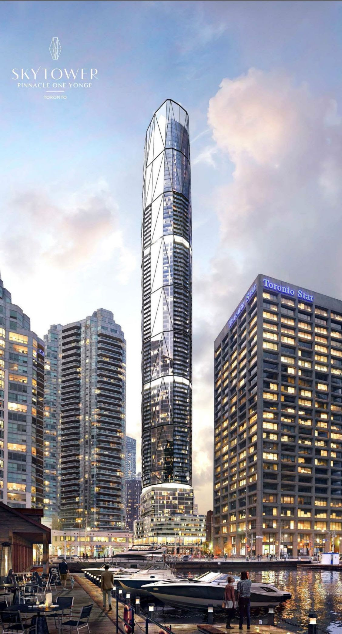 Image result for sky tower one yonge pinnacle