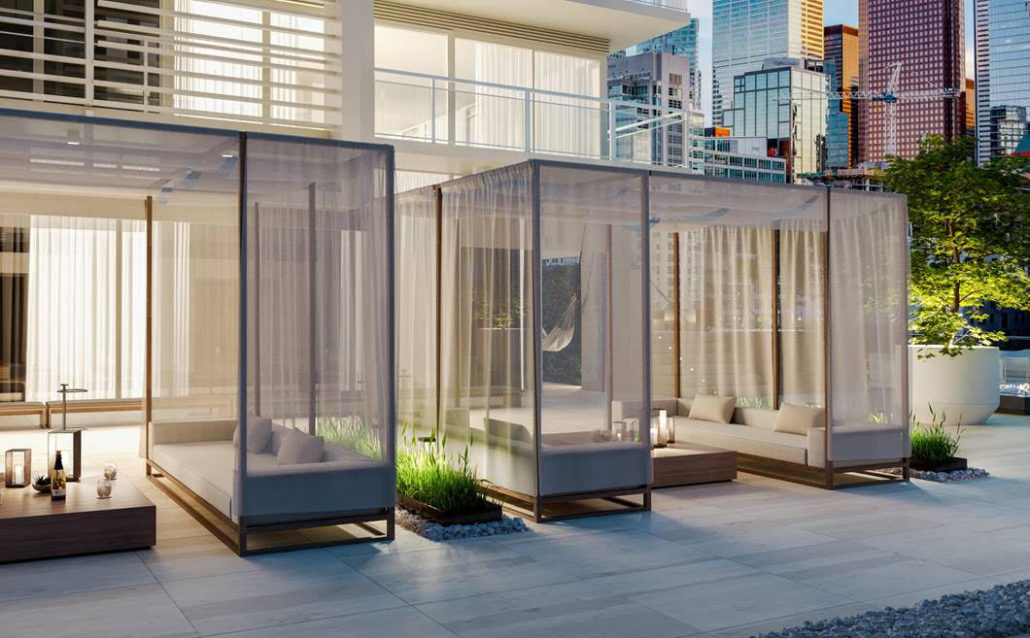 88 Queen Condos - Phase 2 Private Cabanas Redefining the Urban Experience