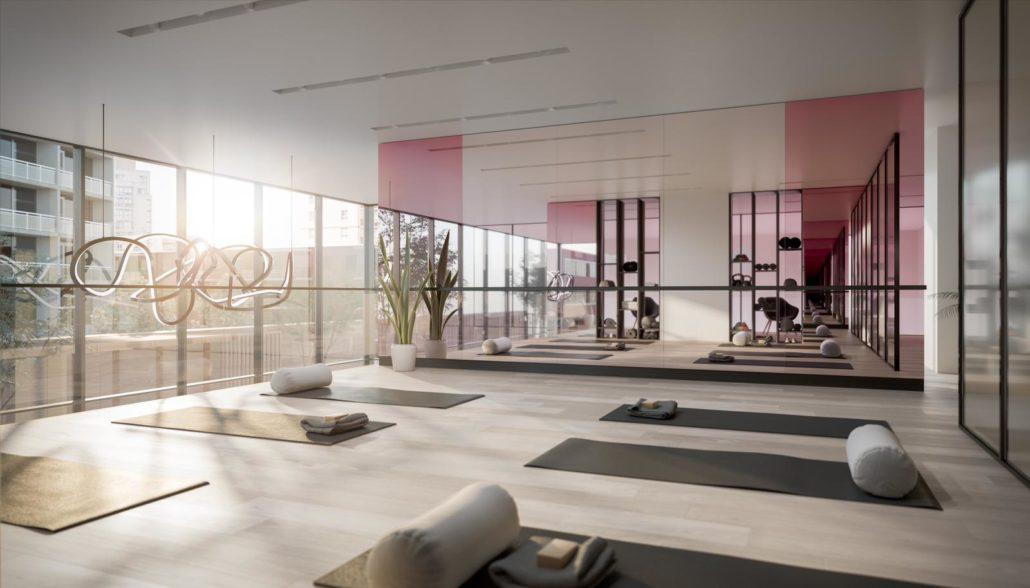 Untitled Toronto Condos Yoga Room