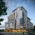 upper west side oakville exterior rendering