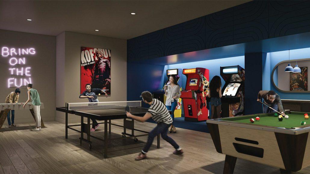 Artsy Condos Arcade