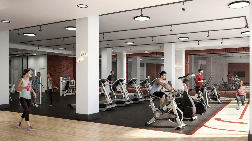 Artsy Condos Mega Gym
