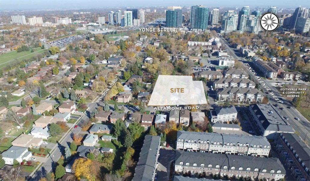 Eleven Altamont Site Location