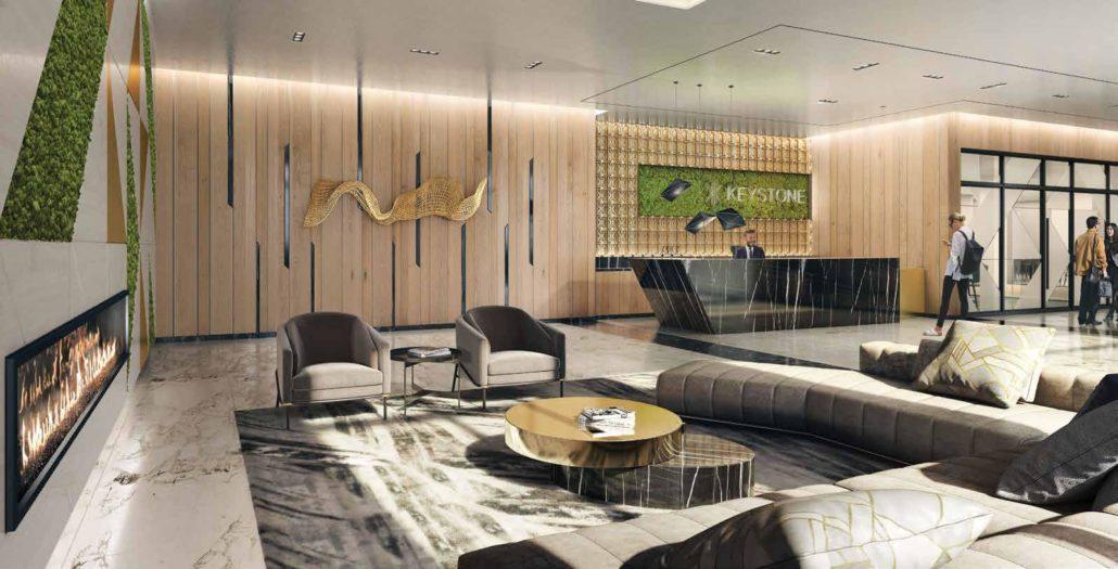 Keystone Condos Phase 2 Lobby