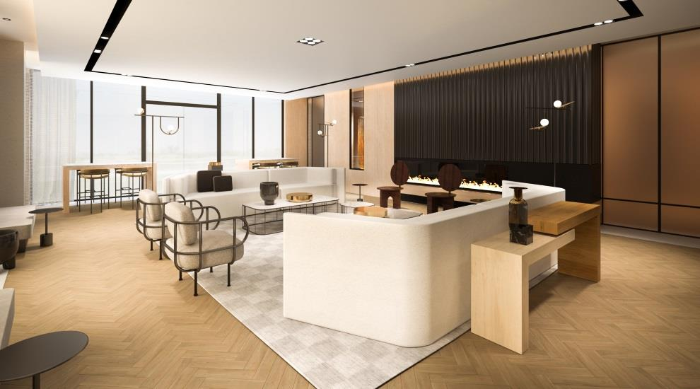MontVert Condos Lounge