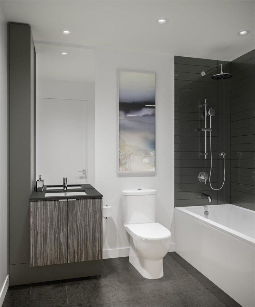 M City Condos Phase 2 Bathroom