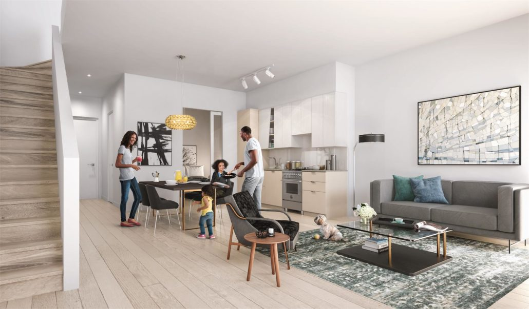 M City Condos Phase 2 Interior
