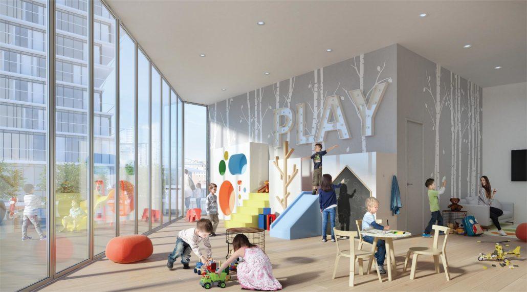 M City Condos Phase 2 Kids Lounge