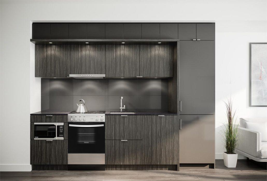 M City Condos Phase 2 Kitchen