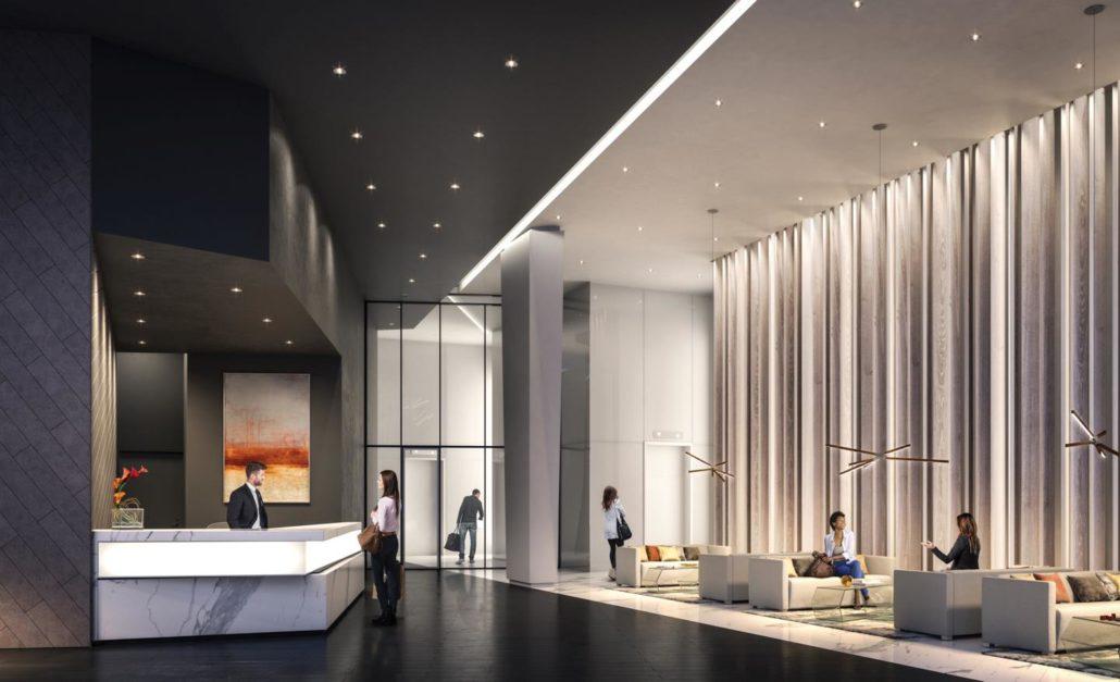 M City Condos Phase 2 Lobby