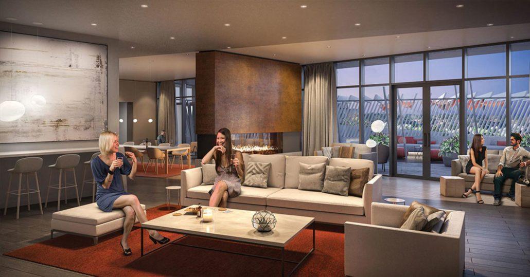 M City Condos Phase 2 Lounge