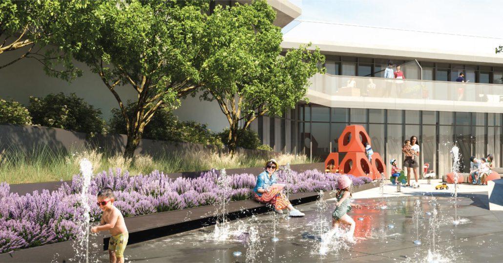 M City Condos Phase 2 Outdoor Amenity