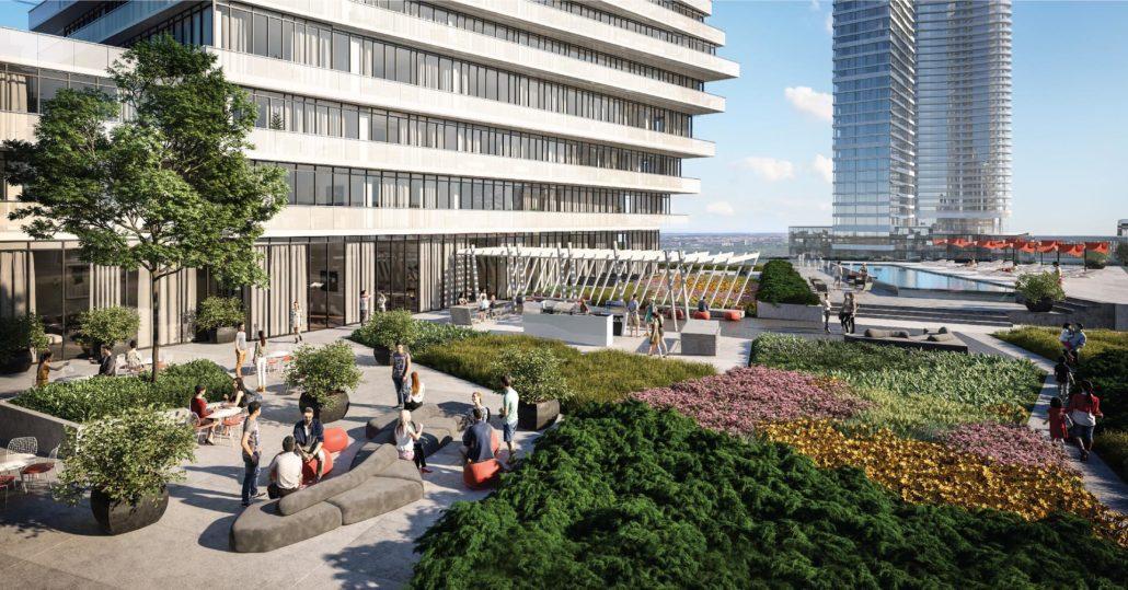 M City Condos Phase 2 Terrace