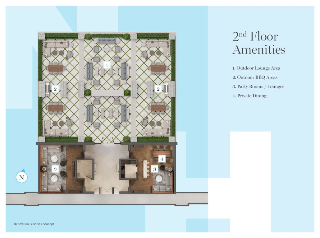 Notting Hill Phase 3 2nd Floor Amenities