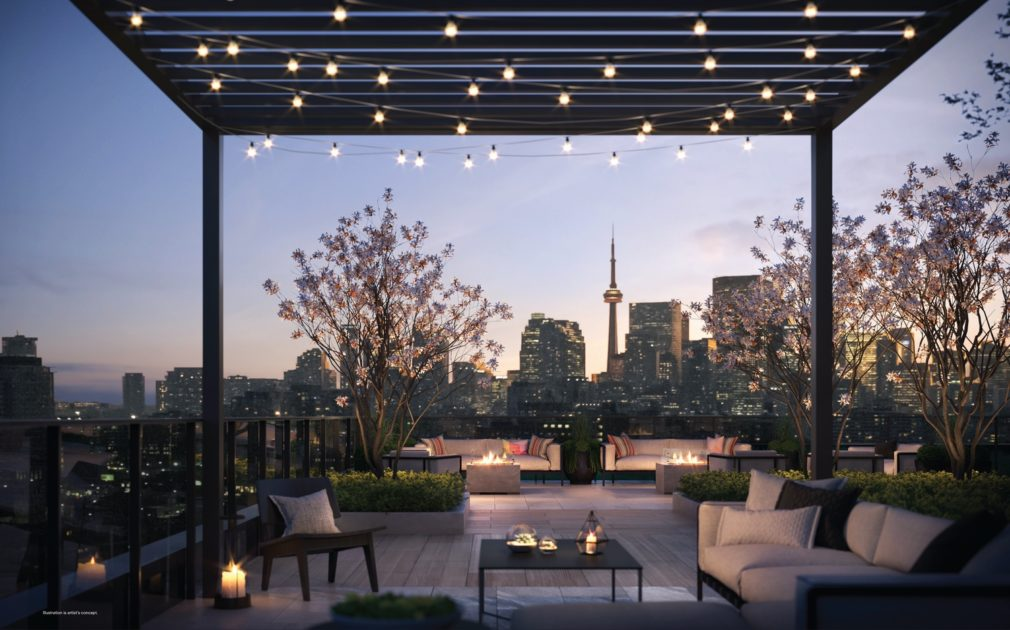 28 eastern condos rooftop terrace