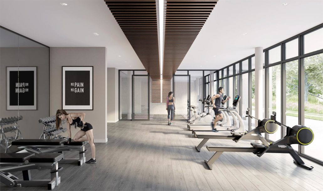 The King's Mill Condos Fitness Centre