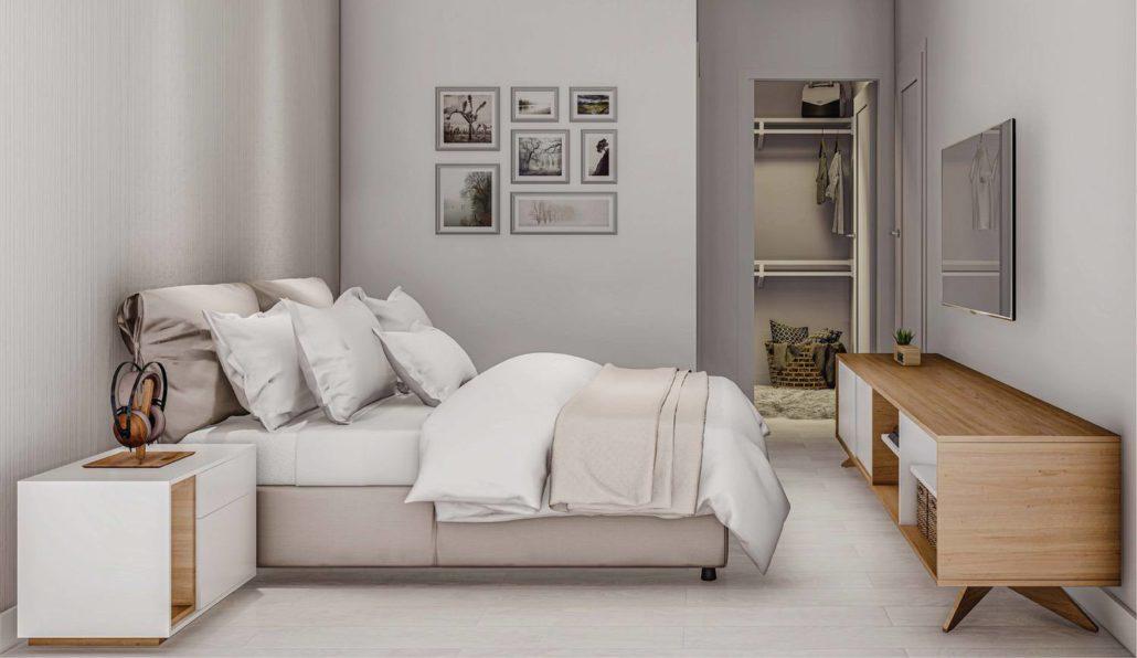 M2M Spaces Condos Bedroom
