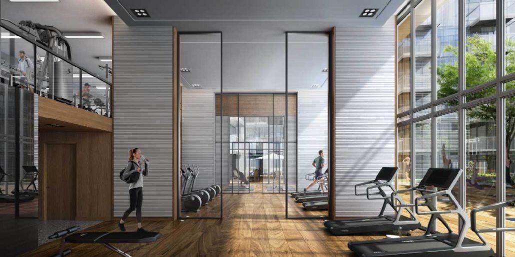 M2M Spaces Condos Gym