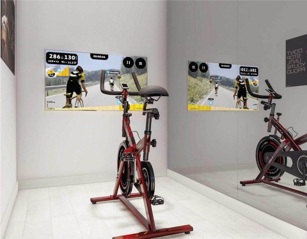 M2M Spaces Condos Home Gym