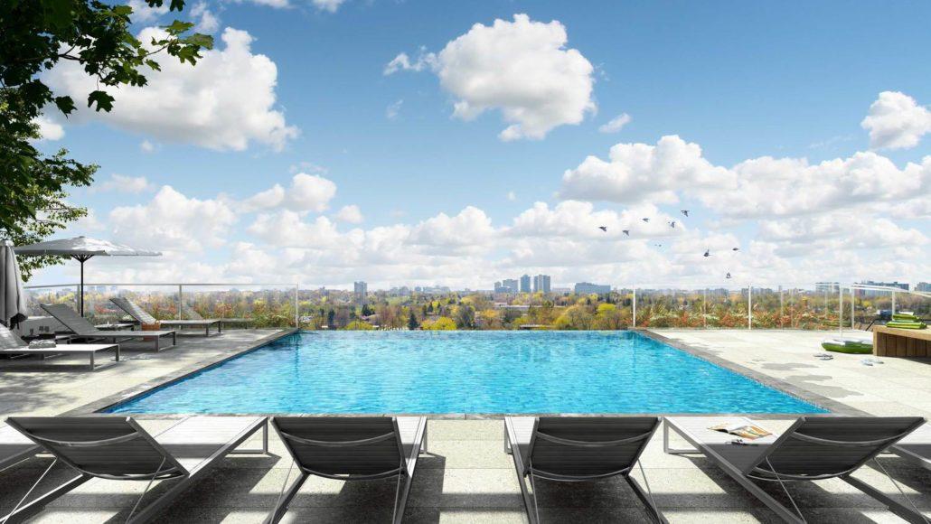 M2M Spaces Condos Infinity Pool
