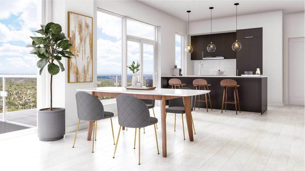 M2M Spaces Condos Kitchen