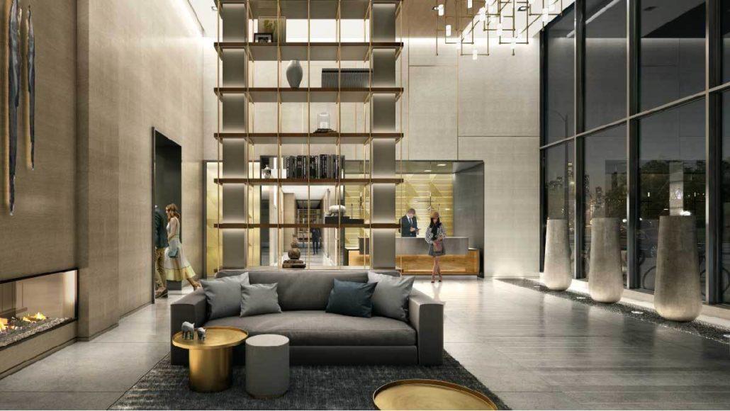M2M Spaces Condos Lobby
